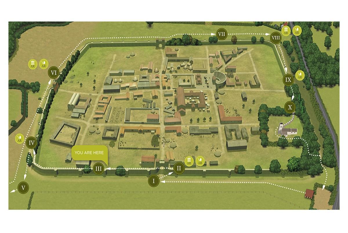 HDC International: Heritage interpretation map design