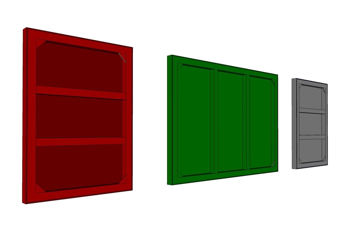 metal frame range wall mounted frames. Black Bedroom Furniture Sets. Home Design Ideas